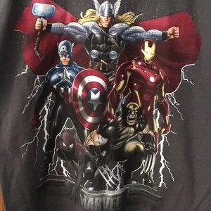 OFFICIALS MARVEL ANVENGER SUPER HERO T-SHIRT